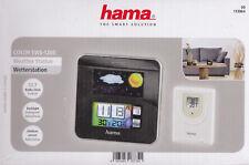 Hama Funk Wetterstation mit Farbdisplay, Bewegungssensor und Außensensor - NEU