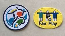 Set Of 1996 EURO + Fair Play Embroidered Patch Badge Parche Flicken Toppa Pièce