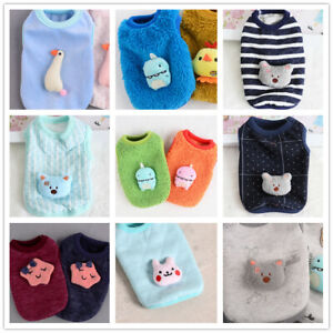 9x Lot XXS XS Small Boy Male Dog Clothes Pupies Pajamas for Cat Teacup Chihuahua