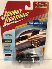 1963 Chevy Corvette Daytona Blue Poly 1:64 Johnny Lightning JLCG015A