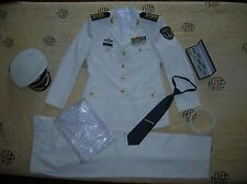 Obsolete 15's series China PLA Garrison Hong Kong Navy Man Officer Uniform,White