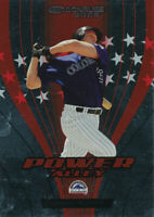 Jeromy Burnitz 2005 Donruss Power Alley Red #PA-10 Colorado Rockies card /2500