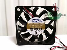 Genuine AVC DA06010B12E 60mm Fan DC 12V 0.1A Ball Bearing Scaleo P