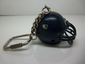 Keychain: 3D Denver Broncos Football Helmet - Unique Flaw - Horse's Mane Only