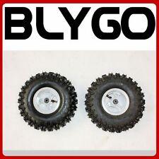"2X 4.10 - 4"" Inch Wheel Rim + Tyre Tire 47cc 49cc Mini Quad Dirt Bike ATV Buggy"