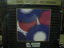 JOE JACKSON WILL POWER RARE Sealed MFSL 24K Gold CD