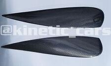 Vauxhall corsa D carbon fibre effect eyebrows