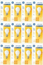 (12) GE General Electric 97494 3 Way Soft White Light Bulbs 50/100/150w