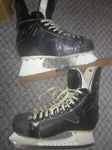 NHL HOF Colorado Avalanche Peter Forsberg Signed Game Used Hockey Skates