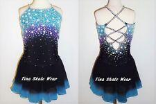 BEAUTIFUL BRAND NEW FIGURE ICE SKATING DRESS SIZE LADIES SMALL