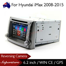 "6.2"" Car DVD Nav GPS Head Unit Stereo Radio For Hyundai iMax 2008-2015"