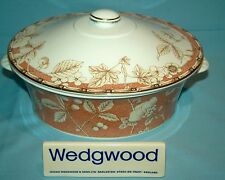 Wedgwood Frances Peach Covered Vegetable Dish - 1stQ - VGC - Free UK Post