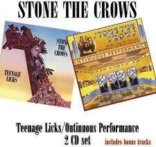 Stone the Crows - Teenage Licks / Ontinuous Performance [New CD] UK - Import