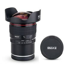 Meike 8mm f/3.5 Wide Angle Fisheye Lens for Sony Alpha,Nex Mirrorless E-Mount