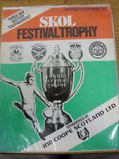 circa 1970's In Scotland: Skol Festival Trophy, Three Day Soccer Tournament, 4th