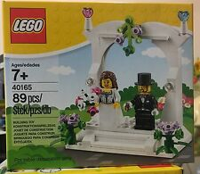 Lego 40165 Wedding Favour/ Bride and Groom Set Brand New & Sealed.