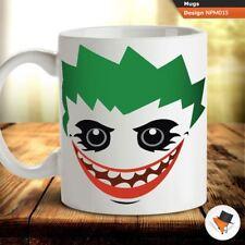Joker cartoon illustration Batman coffee tea mug cup gift birthday xmas !