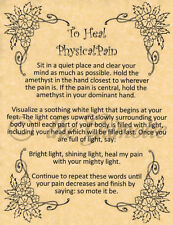 Heal Physical Pain Spell, Book of Shadows Page, Wiccan, Witchcraft, like Charmed