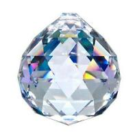 30mm Clear ASFOUR Chandelier Ball 30% Lead Crystal Prism Suncatcher Weddings