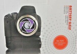 Für Nikon D5100, 5200, 5300 Batteriegriff - 12 Monate Gewährleistung