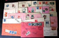 Repubblica -Storia Postale - Democratica - Lotto da 80  buste del settore - 4