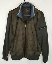 PAUL & SHARK YACHTING Cool Touch Wool Bomber Kompact Hybrid Jacket Sz M
