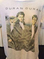 Vtg Duran Duran Behavior 1987 Tour Shirt Sz XL Rock New Wave 80s Pop Smiths Mode