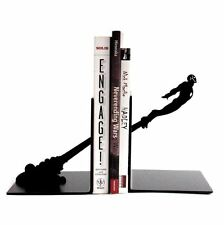 On Sale Iron Man Bookends Decorative Collectible Steel Book Ends Movie SuperHero