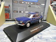 VW Volkswagen 411LE 411 LE 5-Türer blau blue 1970 IXO Altaya 1:43