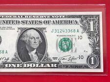 1974 $1 Dollar Bill Note ( KANSAS CITY ) Uncirculated