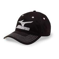 Mizuno Golf Aruba Adjustable Men's Hat Cap Black/White OSFM One Size #67764