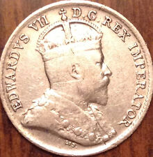 1907 CANADA SILVER 5 CENTS GOOD SILVER COIN HAVE A LOOK !