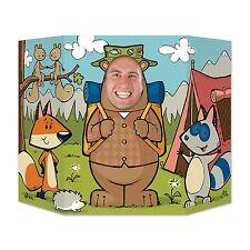 Woodland Amigos Foto Prop - 94 X 64 cm-Bosque Animal Party Decorations