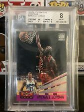 Michael Jordan 1993-94 Topps Stadium Club Beam Team #4 BGS 8 W/ 9, 9.5 Subs HOF