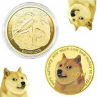 DOGECOIN 1 PC Gold / Physical Coin Blockchain Cryptocurrency DOGE TO THE MOON