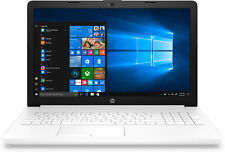 Portatil HP 15-da0019ns I3-7020u 2.3ghz 4GB 128GB SSD 15.6 W10 blanco nieve
