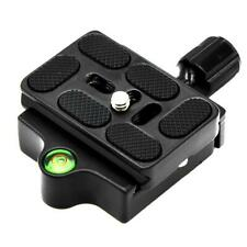 Clamp Quick Release Plate for Monopod Ball Tripod Head Adapter Arca Swiss