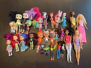 Lot Mixed Toy DOLLS Enchantimals Boxy Barbie Vampirina Frozen Disney Princess ++
