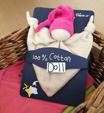 KEPTIN JR en Coton Organique Jouet ZMOOZ Consolateur Doudou poupée hochet-Rose 1...
