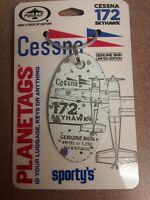 Cessna 172 Plane Tag / Planetags