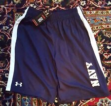 """Awesome Blue PT Shorts Gym/Fitness/Training Size Small """"Navy"""" 100% Polyester"""