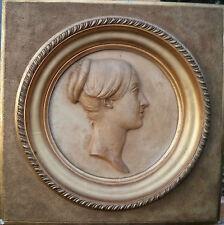 James Pradier (1790-1852) - Profil De Femme - 1847 - Sculpture