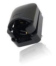 CDL Micro 3 Pin Earthed Schuko Euro Plug To 3 Pin UK Mains Adapter - Black