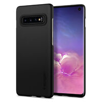 Galaxy S10, S10 Plus, S10e Spigen® [Thin Fit] Ultra Slim Lightweight Case Cover