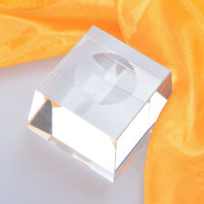 Trapezoid Dimple Blocks Crystal Display Stand Holder For Big Ball Sphere Stones