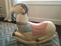 Vtg Mid Century Alexander Girard Rocking Goat Folk Art Herman Miller Collectible