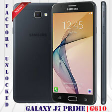 "Samsung Galaxy J7 Prime LTE (16GB) 13MP 5.5"" HD 3GB G610F Android Unlocked Black"
