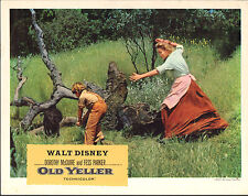 Old Yeller orig Disney lobby card Kevin Corcoran/Dorothy Mcguire 11x14 poster