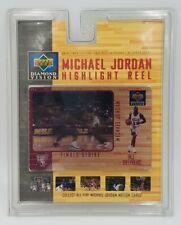 Michael Jordan Highlight Reel #3 Final Strike Upper Deck Diamond Vision
