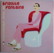 """BRIGITTE FONTAINE - CD SINGLE PROMO """"LES FILLES D'AUJOURD'HUI"""""""